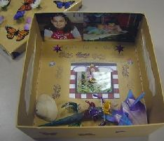 memory box to hold comfort items