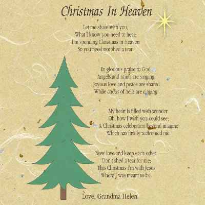 Sly image throughout merry christmas from heaven poem printable