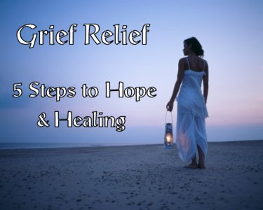 Grief relief program cover