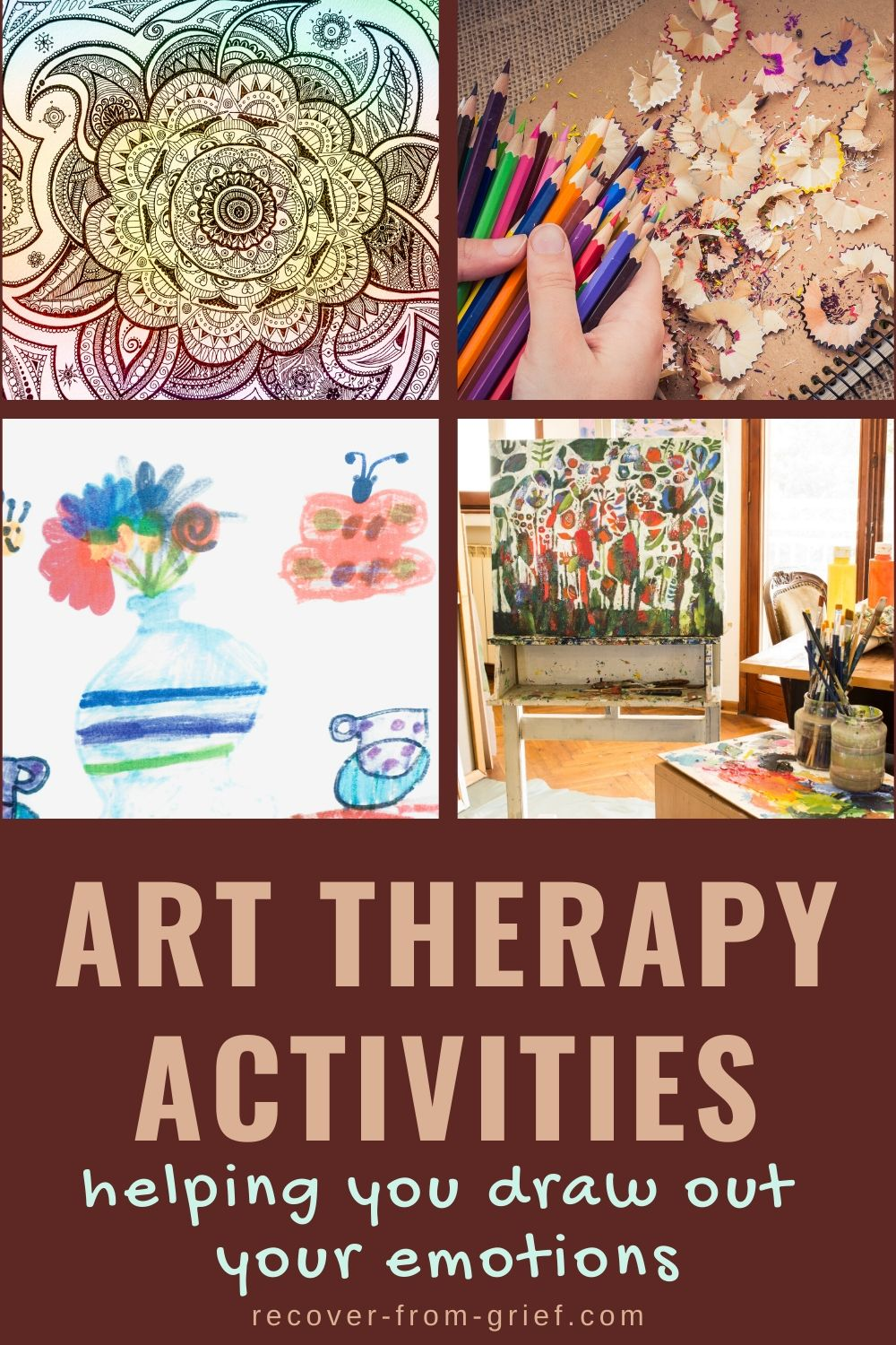 Art therapy activity ideas