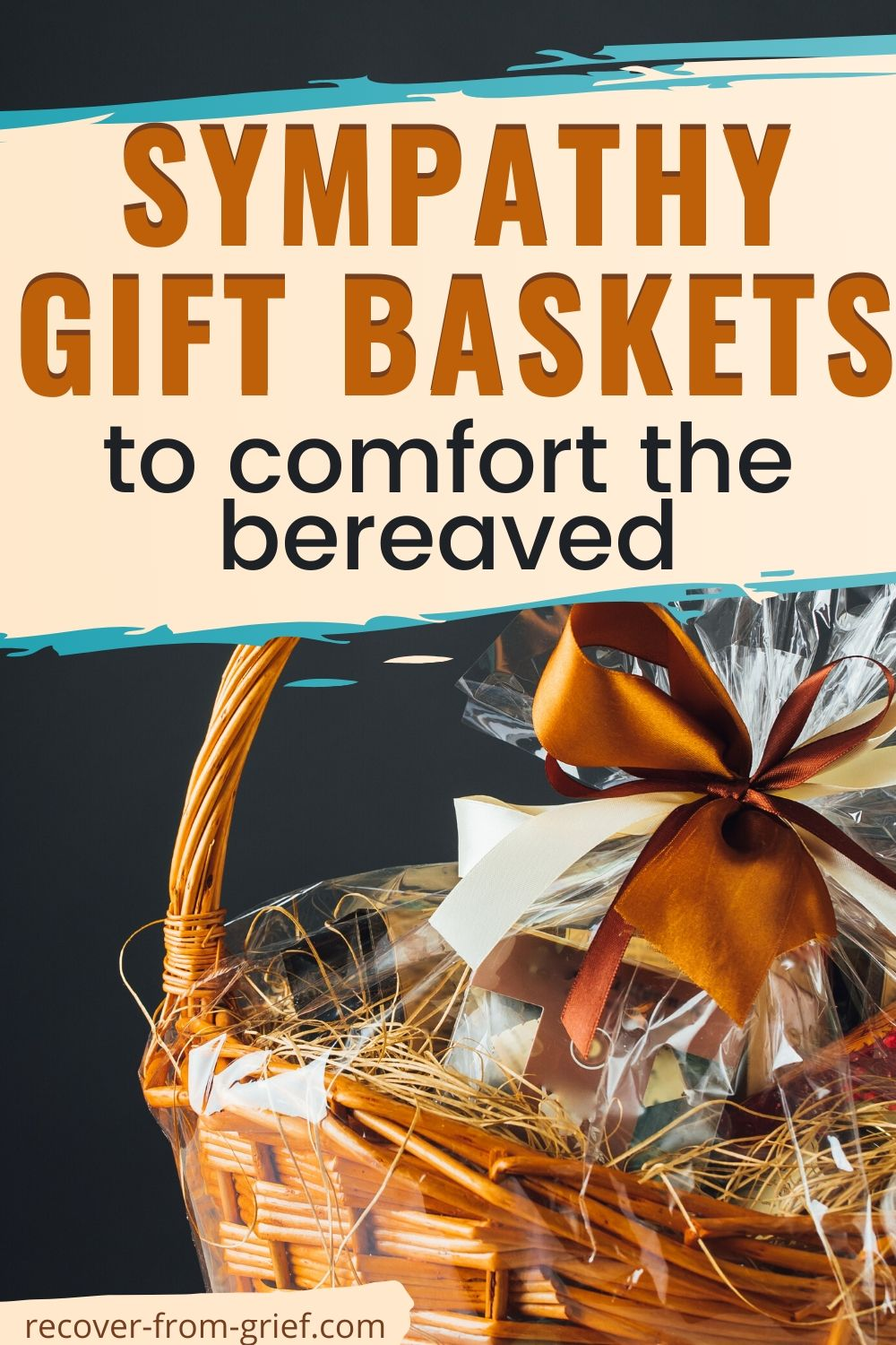 Sympathy gift baskets to comfort the bereaved