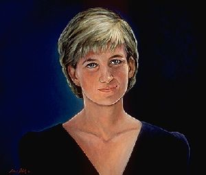 Portrait of Princess Diana