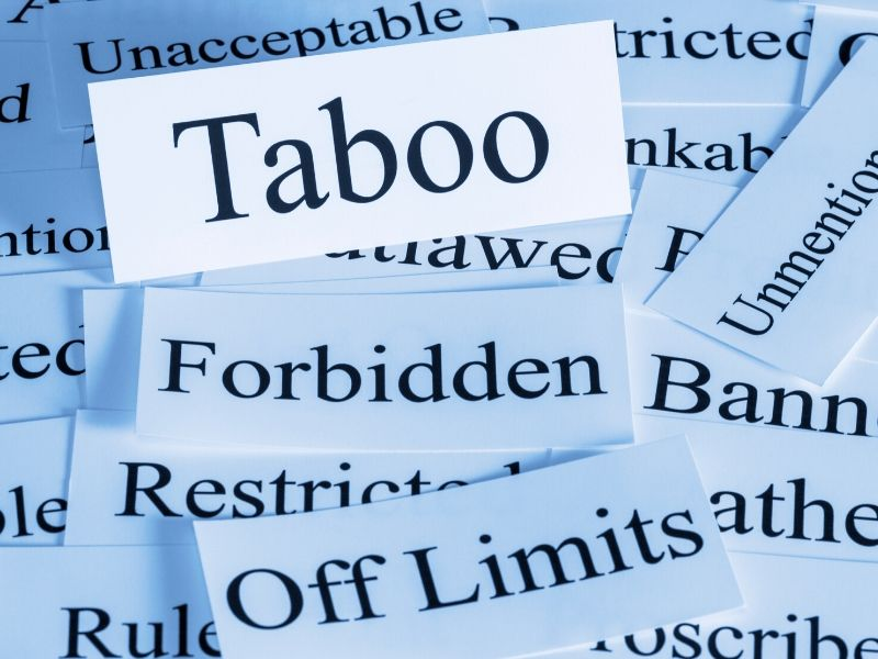 Taboo words when comforting a bereaved person