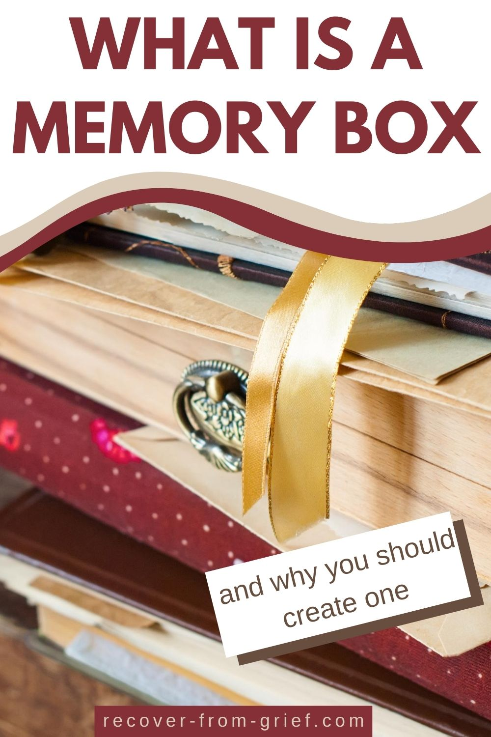 What is a memory box and why you should create one - Pinterest image