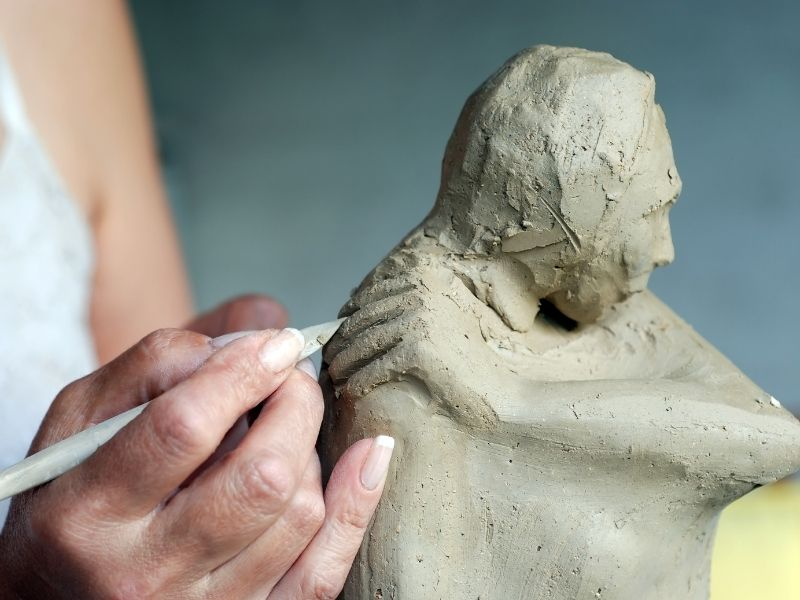 Grief Masks & Sculpture To Help You Connect With Your Soul
