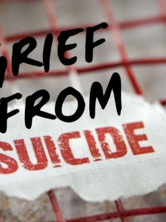 grief from suicide